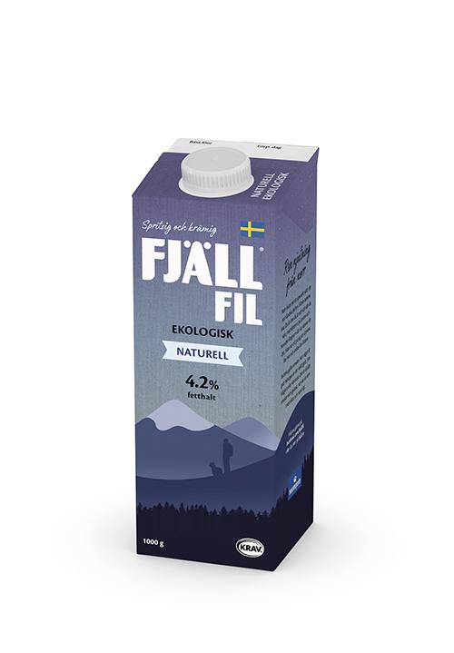 Ekologisk Fjällfil® 4,2% Naturell KRAV 1000g