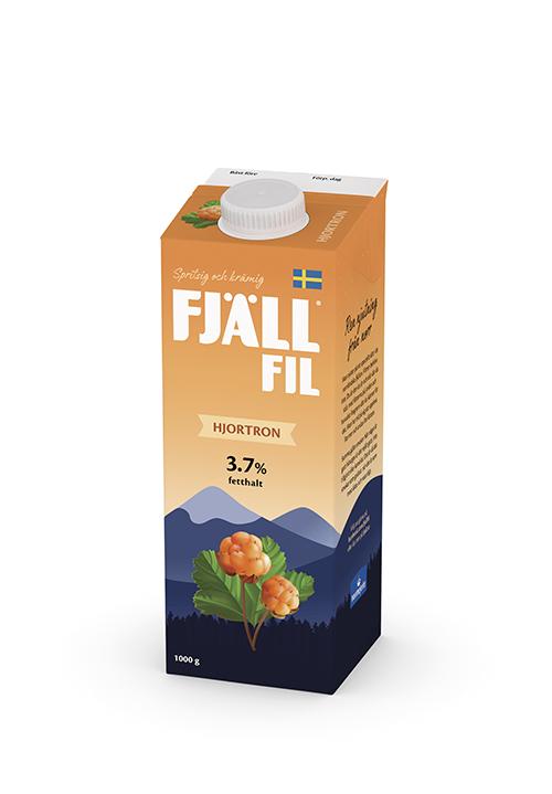 Fjällfil® 3,7% Hjortron 1000g