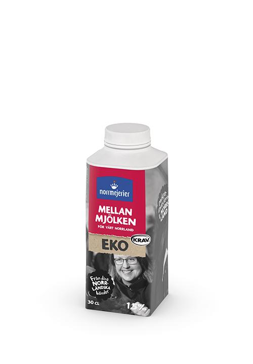 Ekologisk Mellanmjölk 1,5% KRAV 30 cl