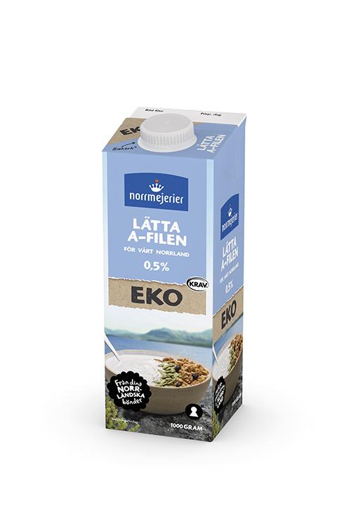 Lätta A-filen Eko 0,5% KRAV