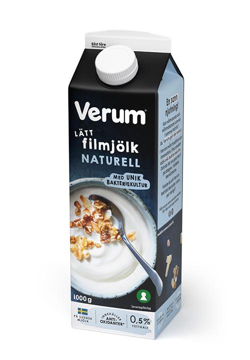 Verum® Hälsofil 0,5% Naturell 1000g
