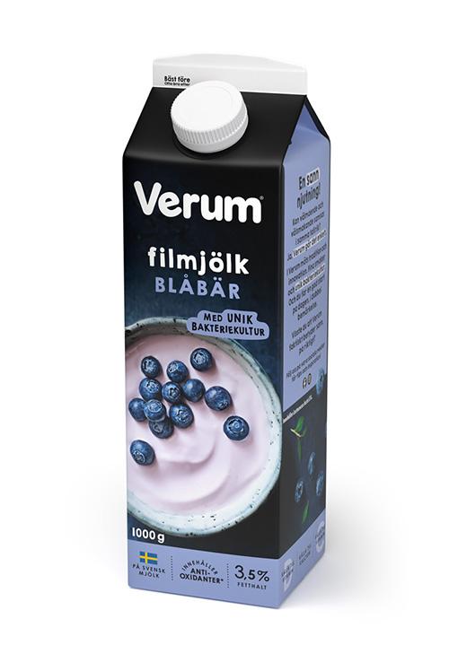 Verum® Hälsofil 3,5% Blåbär 1000g