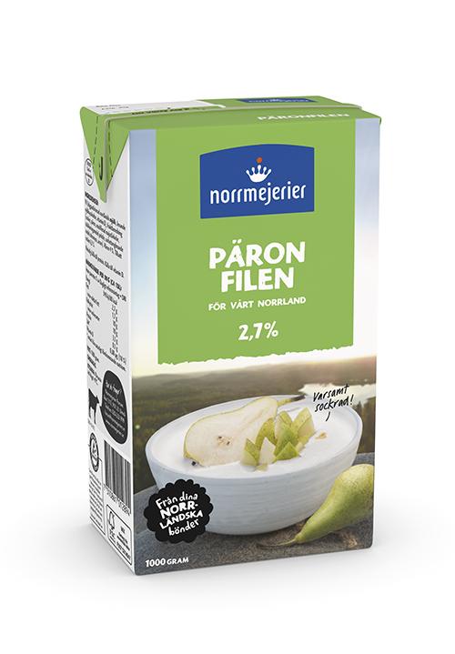 Päronfil 2,7%