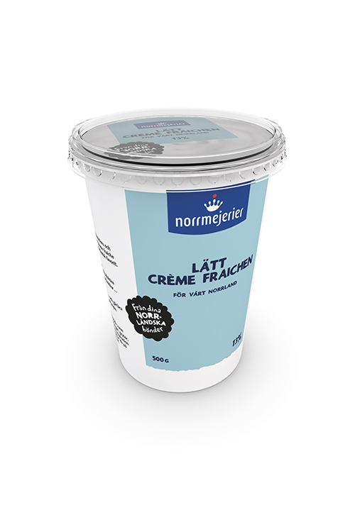 Lätt Crème Fraichen 13% 500g