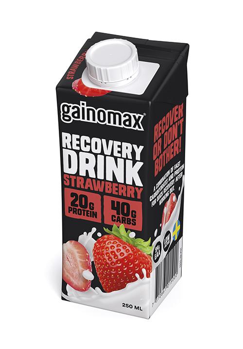 Gainomax® Recovery Jordgubb