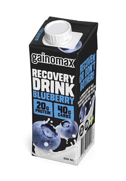 Gainomax® Recovery Blåbär