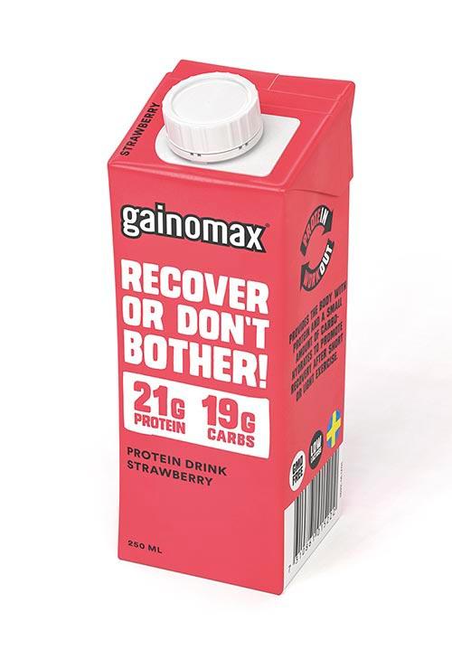 Gainomax® Protein Drink Jordgubb
