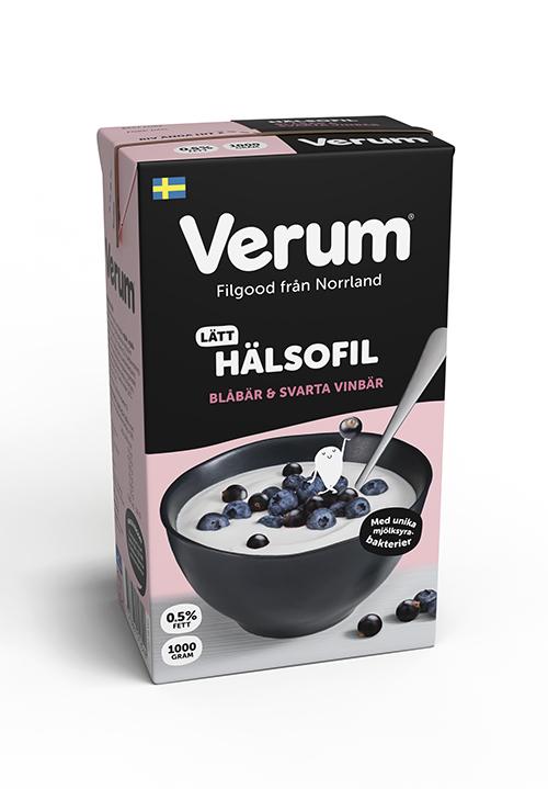 Verum® Hälsofil 0,5% Blåbär-Svarta vinbär