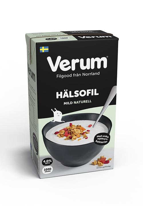 Verum® Hälsofil 4% Naturell