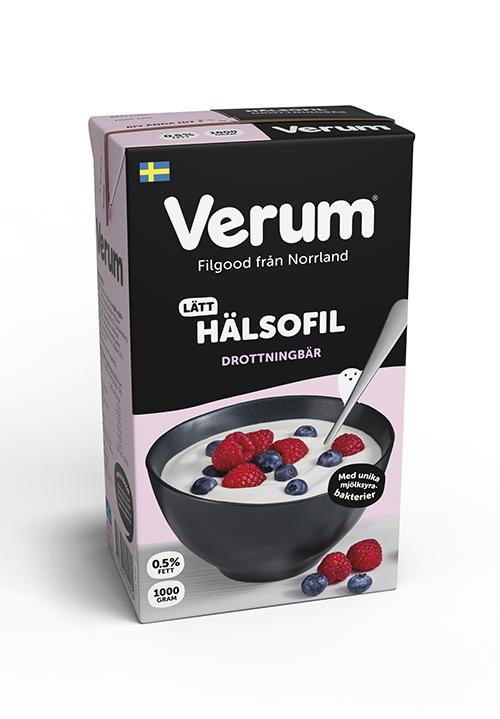 Verum® Hälsofil 0,5 % Drottningbär