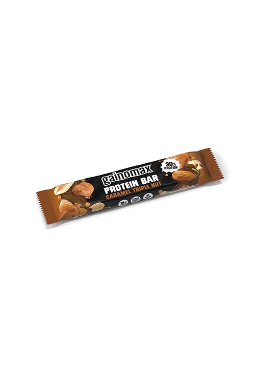 Gainomax® Protein Bar Caramel Triple Nut