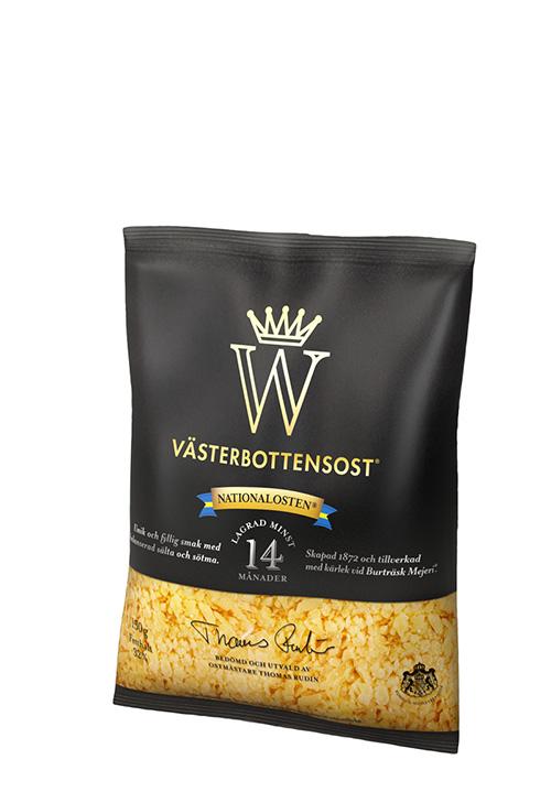 Västerbottensost® riven 150g