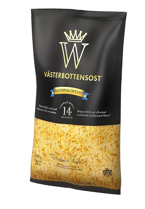 Västerbottensost® riven 300g