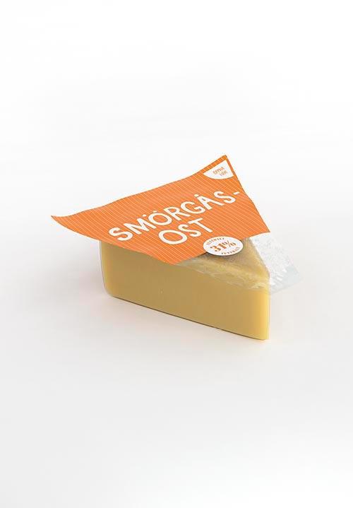 Smörgåsost 31% Mellanlagad, ca 750g