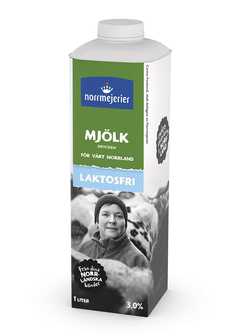 laktosfri mjölk innehållsförteckning