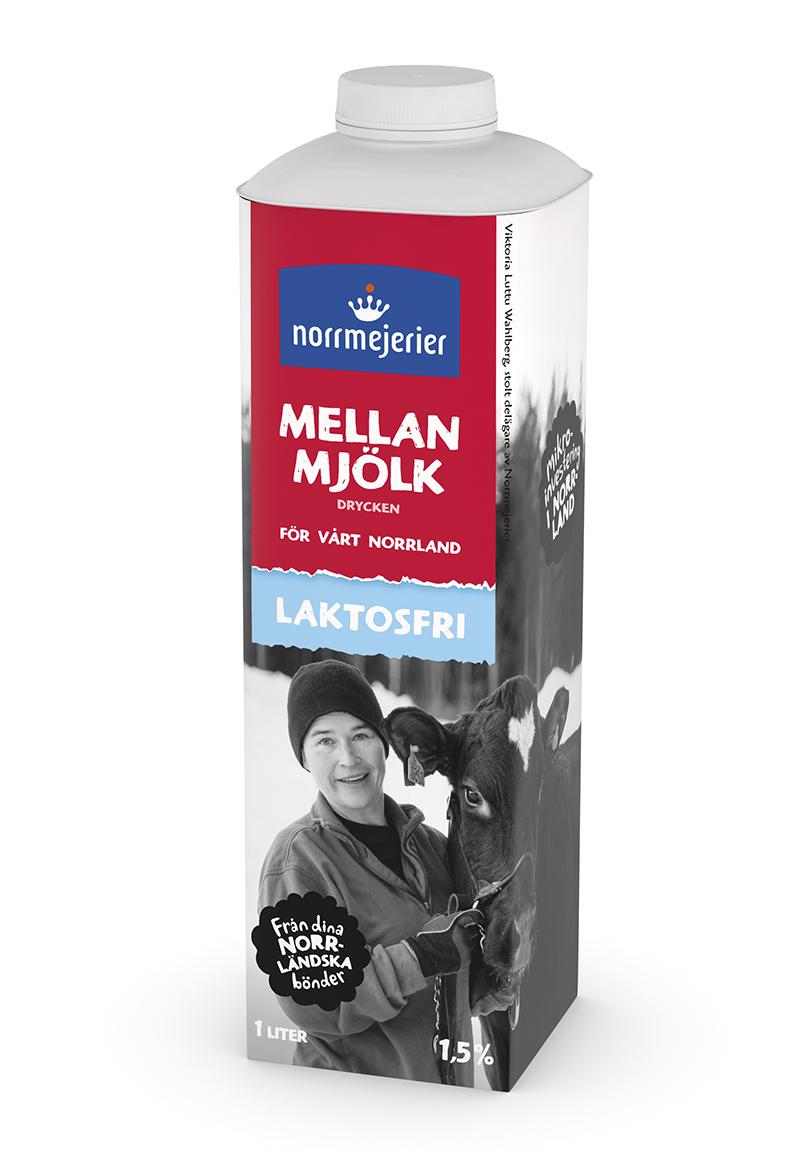 norrmejerier laktosfri mjölk