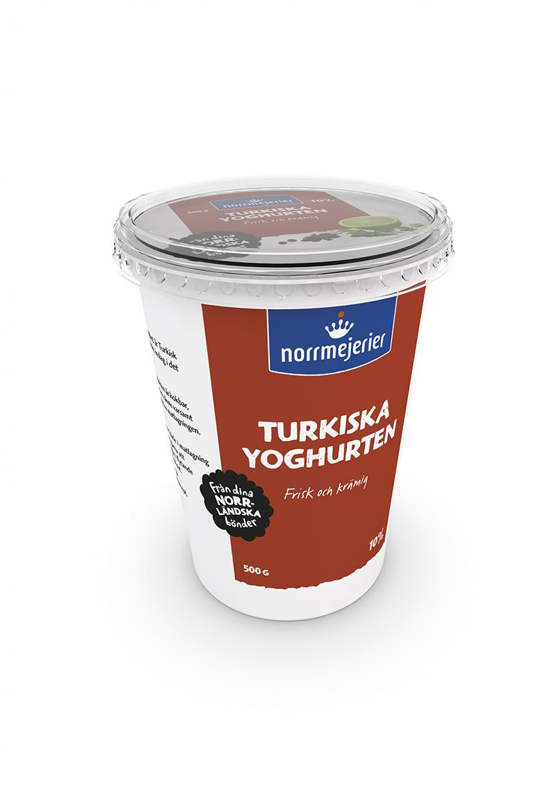 ersätta creme fraiche med turkisk yoghurt