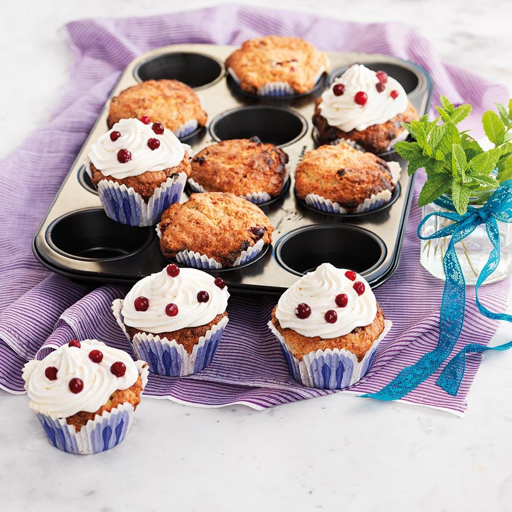 Lingonmuffins