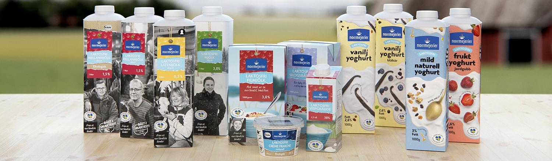 Laktosfria produkter från Norrmejerier